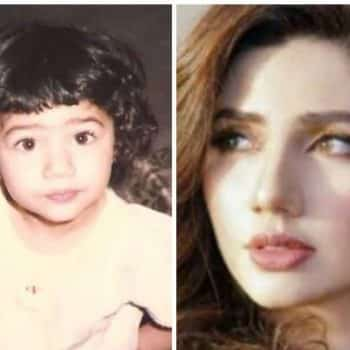 """Mahirah Khan's childhood pictures will make you go """"Awwww""""!!!"""