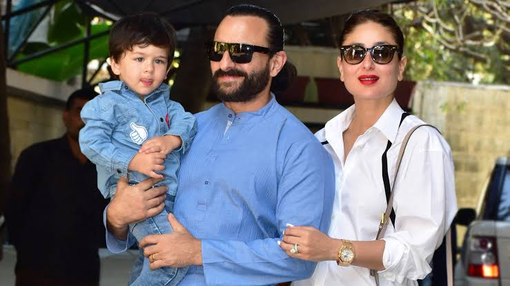 Kareena Kapoor posted a picture of Saif Ali Khan and Taimoor Ali Khan and it is super cute!!