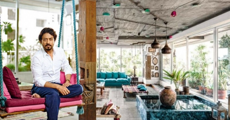 Late Irrfan Khan's Home is Perfection!